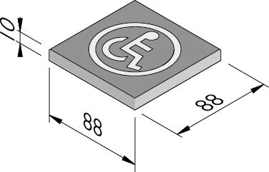 Symbooltegels 88x88