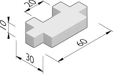 Square 60x30