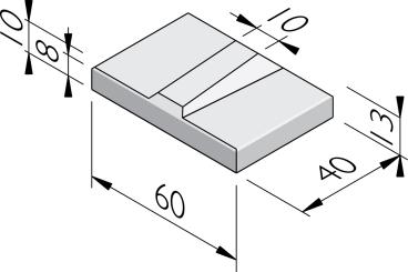 Bermbeschermingstegels 40x60