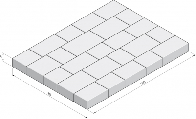 Basic 80x109 La Strada pakketverband
