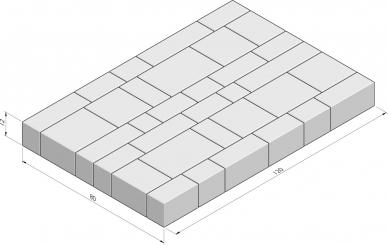 Picasse 80x120 pakketverband