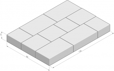 Picasse 84x120 pakketverband