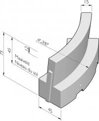 GRL-450 bocht