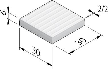 Geleidelijntegels 30x30