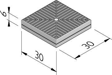 Rubberinformatietegels 30x30