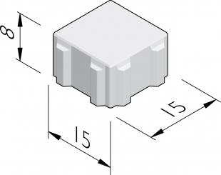 Ecoroc stenen 15x15