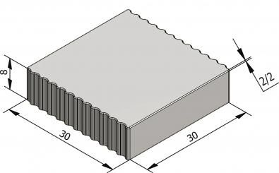 Karteltegels 30x30