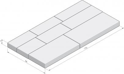 Basic 66x132 Infinito pakketverband
