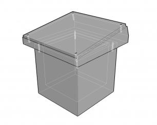 Urnenkelders model 50